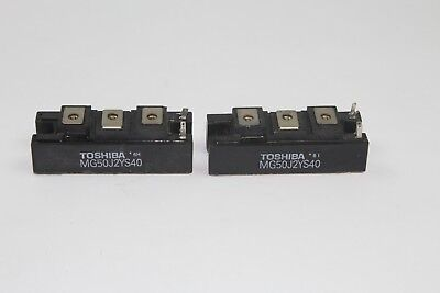 Toshiba Mg50j2ys50 Igbt Module Lot Of 2
