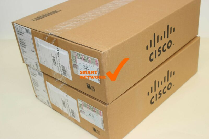 New Cisco Ws-c3850-48f-e 48 Port Poe+ Ip Services Switch 1100wac Power