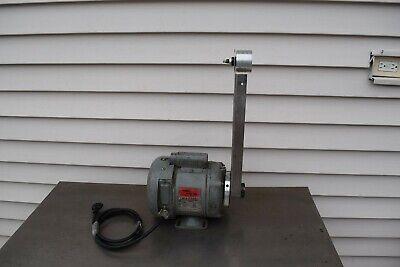 Vintage Master Motor Wmartin Sprocket 13 Hp 1725 Rpm 115230 V Belt Sander