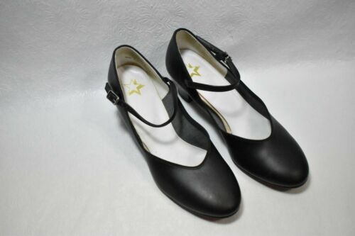 Dance Shoes Black Mary Janes Size 9.5 Women