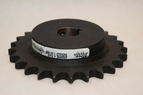 """(NEW) MARTIN 60BS25 1-3/16 1-3/16"""" Bored Key 25 Tooth Sprocket"""