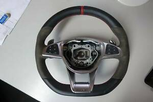 Mercedes AMG Alcantara Steering Wheel A1664601618 Revesby Bankstown Area Preview