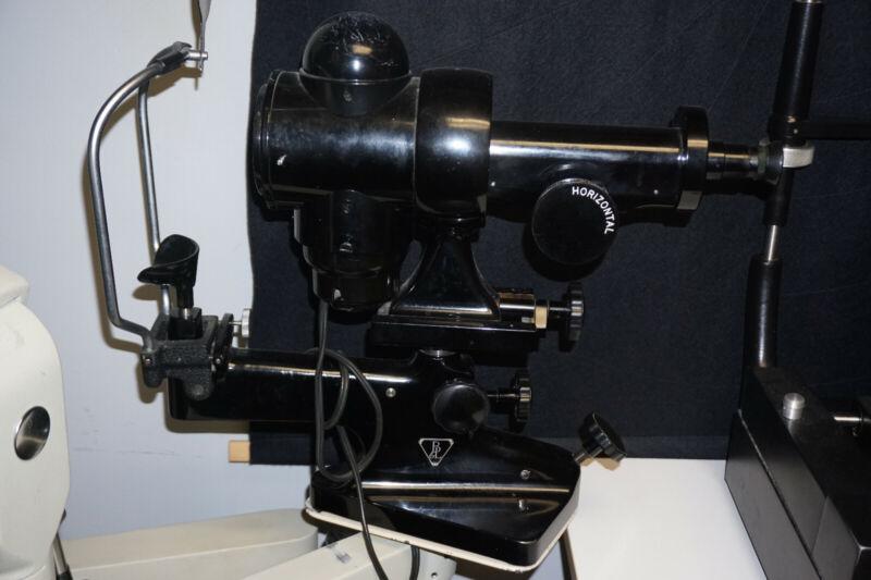Optical B&L keratometer