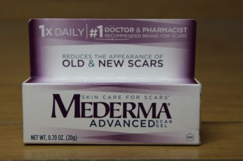 MEDERMA Advanced Scar Gel SEALED NEW 0.70 oz (20g)  Free shipping EXP 10/2020+