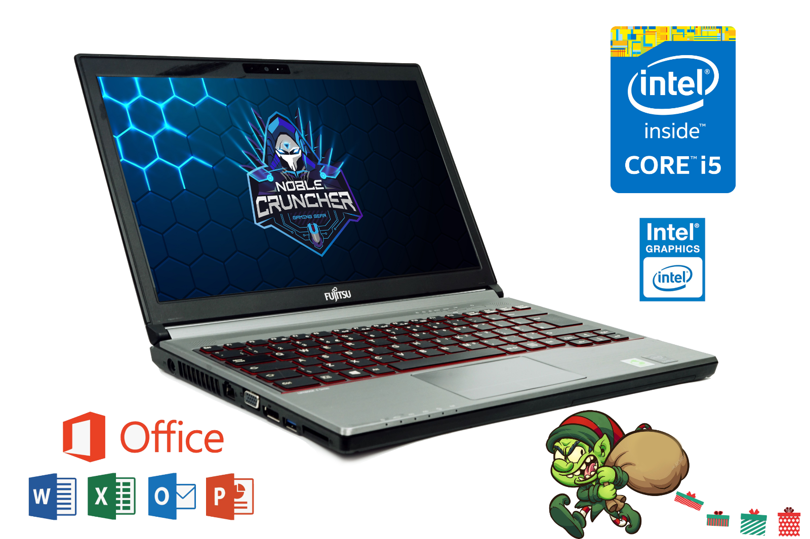 Laptop Windows - Cheap Gaming Laptop Intel Core i5 6GB RAM 500GB HDD Windows 10 Warranty PC