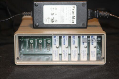 DATAQ Data Logger DI-715B & 4 DI-5B47 & 1 DI-5B41 USB Tested DI 5B Mint DI715-U