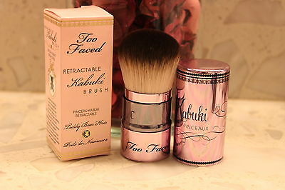Too faced Retractable Kabuki Brush Foundation blush bronzer NIB $34 NEW IN BOX for sale  Shipping to Nigeria