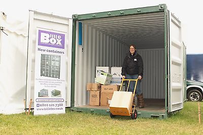 Secure storage in shipping containers