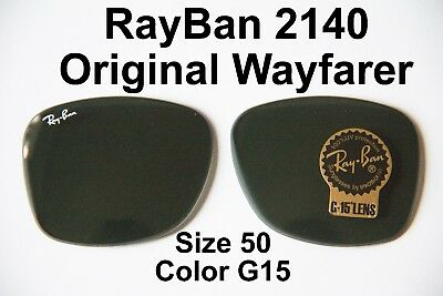 Genuine RayBan 2140 Original Wayfarer Lenses,Buyer Picks Size and (Ray Ban Wayfarer 2140 Sizes)