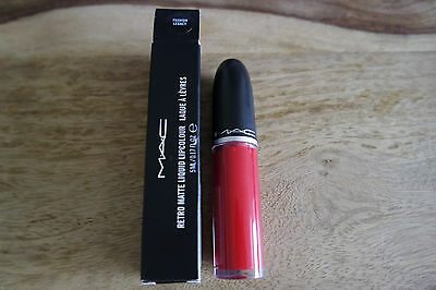 MAC Retro Matte Liquid Lipcolour Lippenstift Lip Lack NEU Fashion Legacy OVP rot