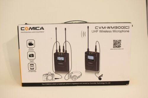 Comica CMV-WM330(C) UHF Professional  Wireless Microphone