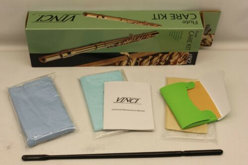 VINCI Flute Maintenance Care Cleaning Kit , SAME DAY FAST SHIPPING with TACKING