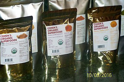 COHEN'S ORGANIC SUPERFOODS
