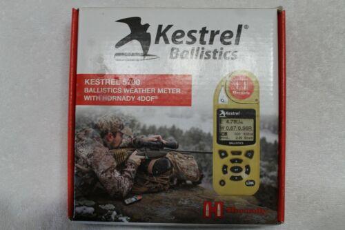 KESTREL 5700 Ballistics Weather Meter with HORNADY 4DOF 0857HLSND - LEU x