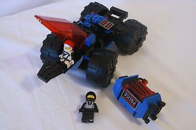 Lego Vintage Space Police # 6895 Spy Trak 100% complete w/figs and manual -1989