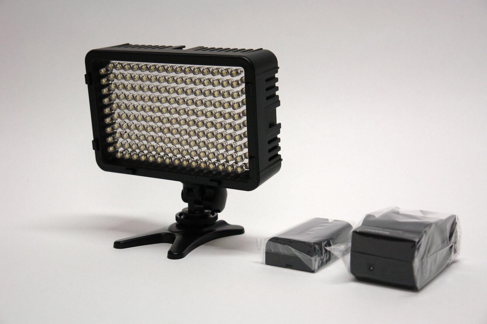 Pro 1 Led Xc Hd Video Light + F970 For Canon Xc15 Xc10 Xc...