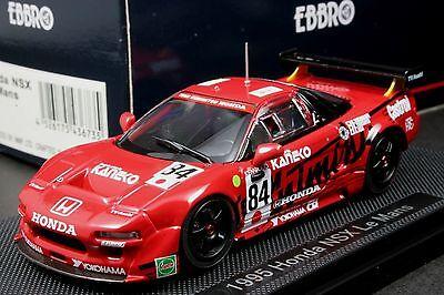Ebbro 43673 1:43 scale Honda NSX Le Mans 1995 No. 84 Die Cast Model Racing Car