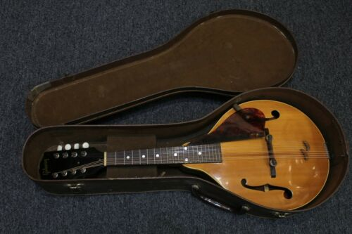 1952 Gibson A-40 Mandolin, Great Vintage Condition, Includes Original Case