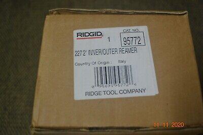 Inner-outer Reamer Copper Stainless Steel Tubing 12 - 2 Ridgid 22795772