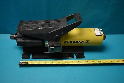 Used Enerpac Pa133 C30990 10000psi Air Hydraulic Pump