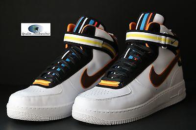 the latest e4127 f6beb Nike Air Force 1 MID SP Tisci Riccardo RT White Baroque Brown 677130 120 Sz  13
