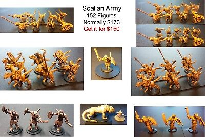 15mm Fantasy Scalian Core Army (152 figures) Normally $173.00