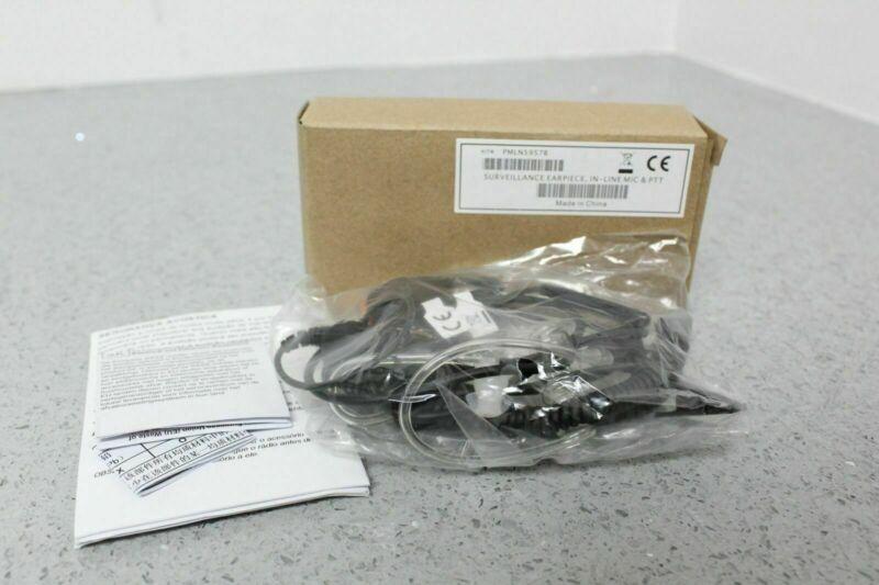 NEW Genuine Motorola PMLN5957B 1 Wire Earpiece Surveillance Kit Black FREE S&H
