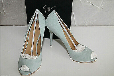 Leather Court Shoes Lamb Jade Giuseppe Zanotti Coline E46123 P. Eu 39 US7,5