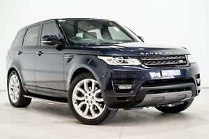 2014 Land Rover Range Rover LW Sport 3.0 TDV6 SE Blue 8 Speed Automatic Wagon