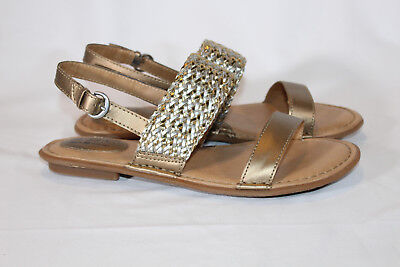 boc leather Double Strap Sandals with AdJ Backstrap Costa  Adj Back Strap