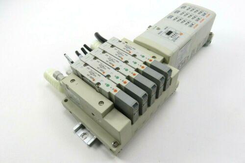 SMC EX250-SEN1 Ethernet/IP, EX250-IE3 Inputs & SMC SS5V2-GAQ001 Manifold Base