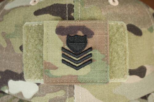 USCG US COAST GUARD I/A MULTICAM OCP E-6 HOOK BACK CAMOUFLAGE CAMO UNIFORM RANK