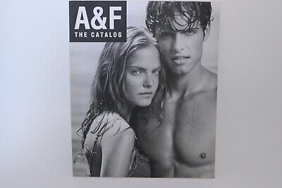 Abercrombie & Fitch Vintage Christmas 2006 Catalog A&F Bruce Weber Photography ()