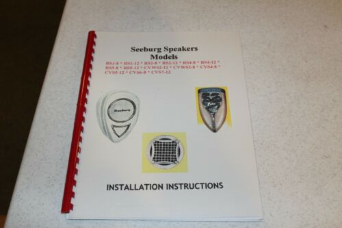 Seeburg Speaker Models - Installation Instructions