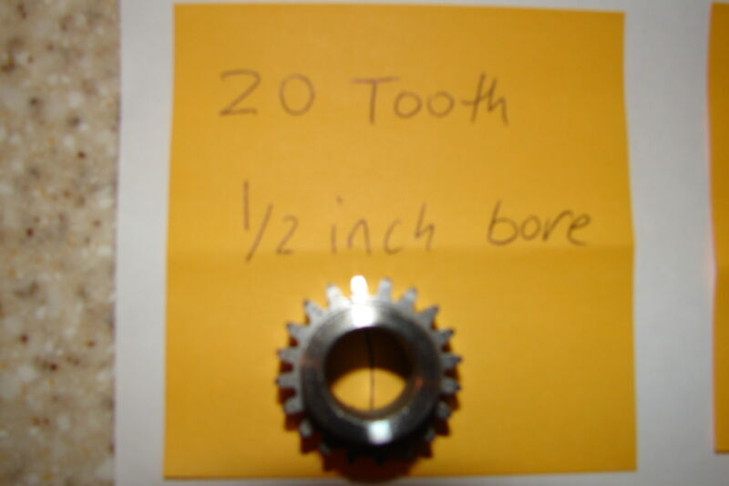 20 Tooth 1/2 inch bore Pinion gear