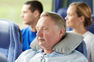 Travel Pillow Neck Inflatable Best for Airplane Travel Head and Neck (Best Inflatable Neck Pillow)