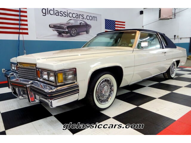 1979 Cadillac deVille Special Edition Phaeton Coupe Low Reserve