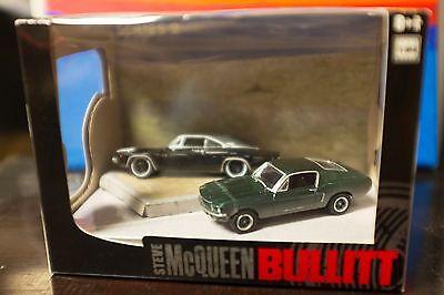 Steve McQueen ~ BULLITT ~Limited Edition Green Light Diorama ~ Series 2 ~ 1:64