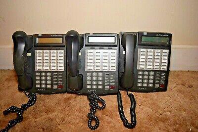 Lot 3 Vodavi Starplus Sts 3515-71 Black 24 Button Digital Display Speakerphone