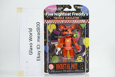 Five Nights At Freddy's Pizzeria Simulator Rockstar Foxy Action Figure NEW Toys