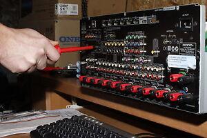 ONKYO TX-NR 509 Receiver Reparatur & HDMI Board Instandsetzung