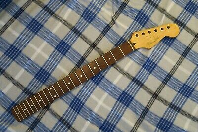 "FENDER STRATOCASTER STRAT NECK Maple 21 FRET MODERN C 9.5"" Radius WORN CONDITION"