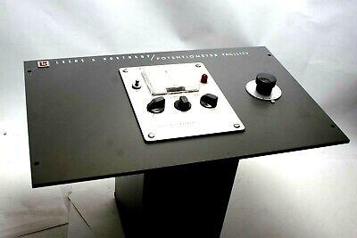 Vintage Ln Leeds Northrup Dc Null Detector Cat No 9834-1 W Panel