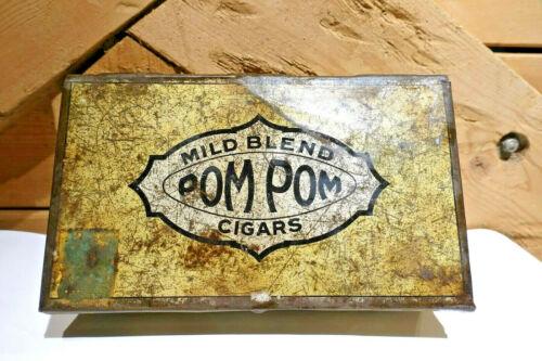 Cool Vintage Mild Blend Pom Pom Cigars Tin - Swanky Barn