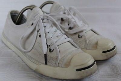 Converse Jack Purcell - weiße Damen Herren Sneaker Schuhe Gr. 40 bzw. 7 - Converse Jack Purcell Damen