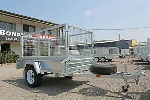 Trailer Sale - Galvanised Box, Flat Top, Tipper, Plant & Car Trailers Welshpool Canning Area Preview