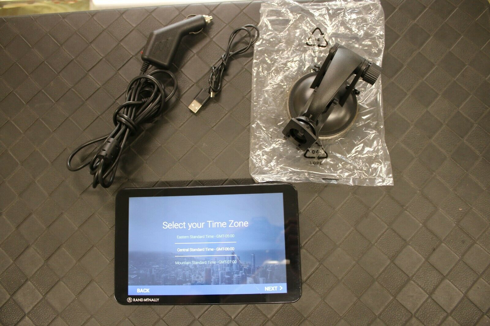 Rand McNally TND T85 Tablet Truck 8 GPS With Mount And Power Cable Bundle - $160.00