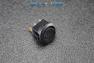 Round On Off Rocker Switch Mini Toggle Blue Led 34 Mount Hole Ec-1103abl