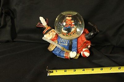 Toy Soldier Musical Water Globe