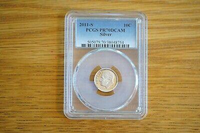 2011-S 10C Silver Roosevelt Dime PCGS PR70DCAM comprar usado  Enviando para Brazil